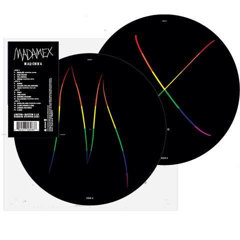 Madame X (Ltd. Rainbow Picture Disc 2 LP) von Madonna - LP jetzt im Madonna Shop
